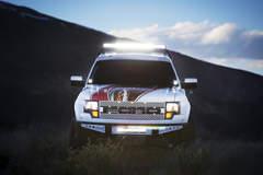 Nicoletti Motorsports Raptor with Rigid Industries lights