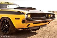"The Hotchkis Suspension ""E-Max"" 1970 Dodge Challenger on Forgeline ZX3R Wheels"