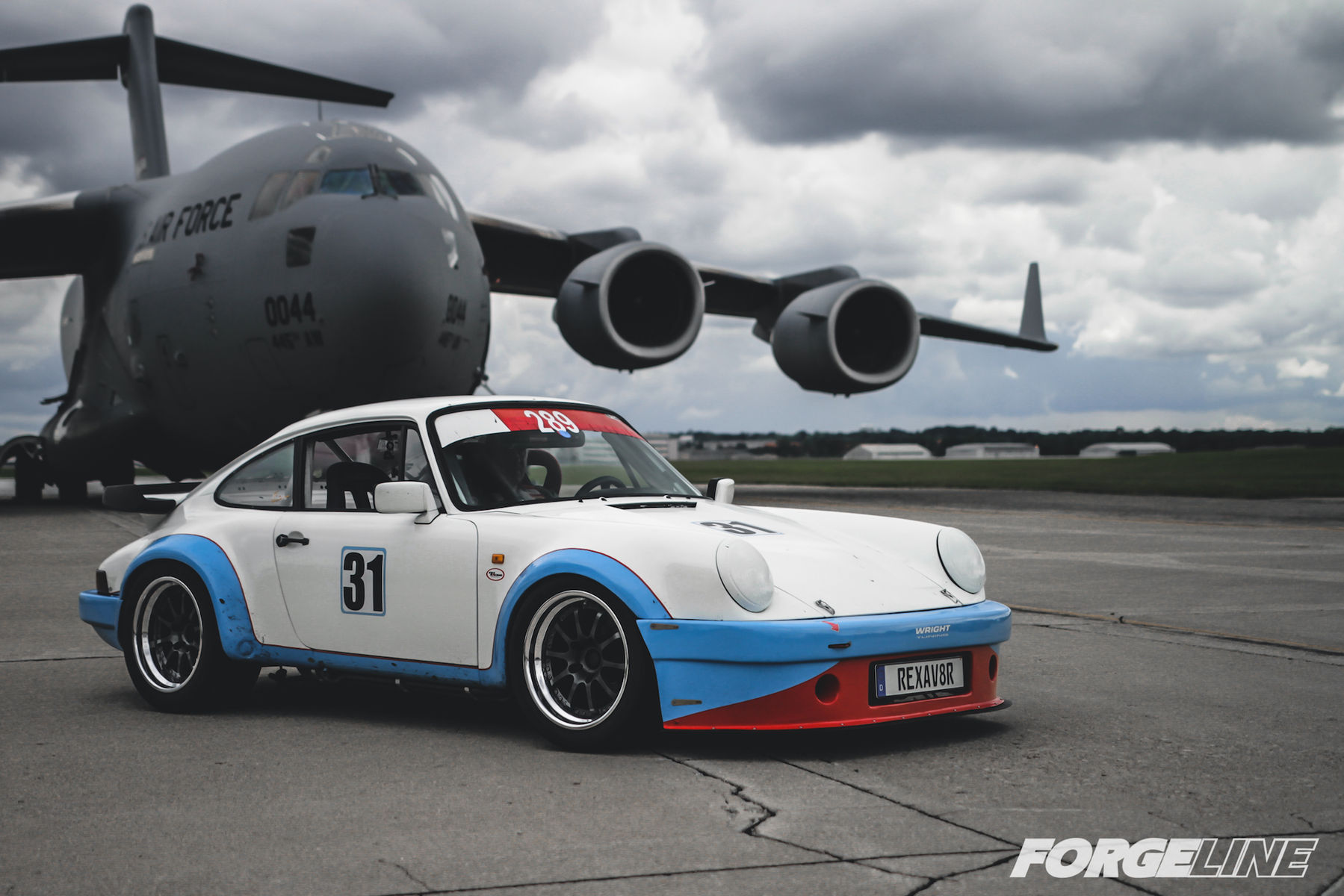 1976 Porsche 911 | Porsche 911 Track Car on Forgeline ZX3R Wheels