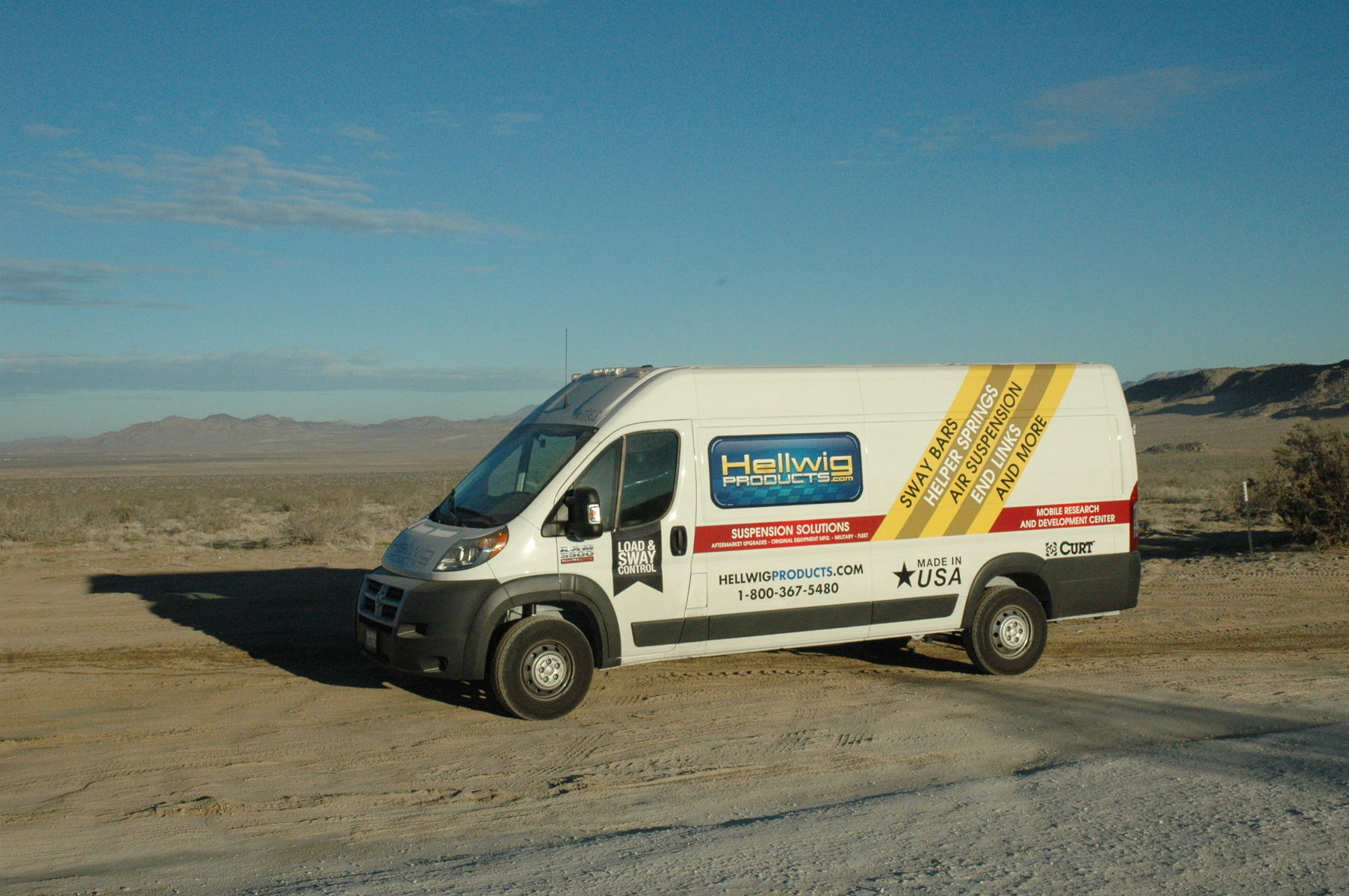 2014 Ram Promaster Cargo Van | Hellwig ProMaster