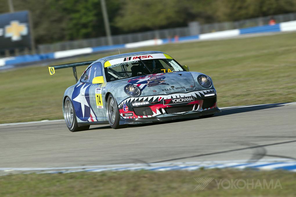 Porsche 911   2014 IMSA Porsche GT3 Cup - Sebring