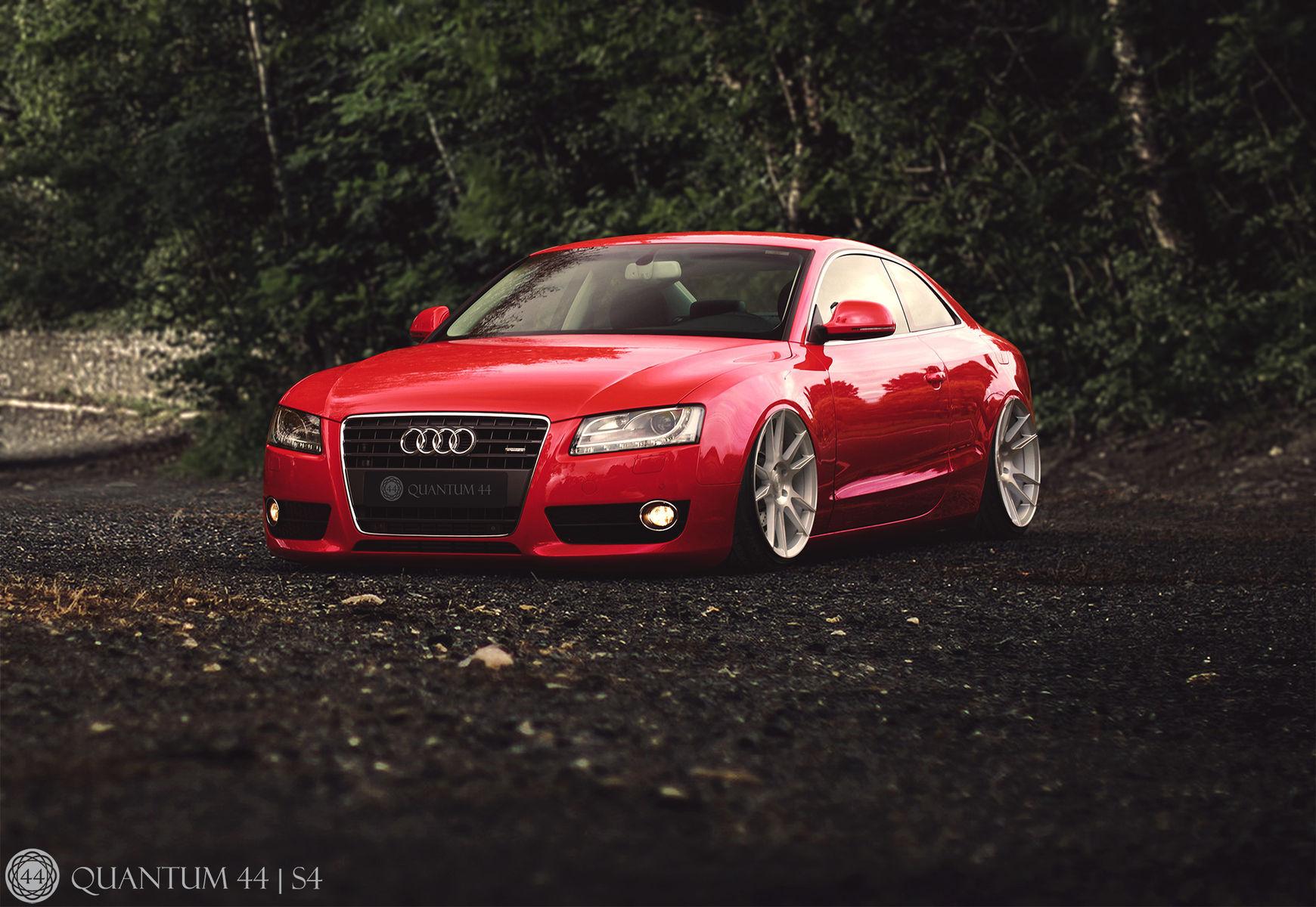 Audi A5   Audi A5 - Quantum44 S4 Wheels