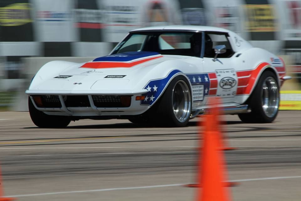 1972 Chevrolet Corvette Stingray | Detroit Speed's 1972 Corvette Development Vehicle on Forgeline GA3 Wheels