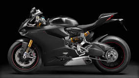 Ducati 1199 Panigale S - Black Model Left Side