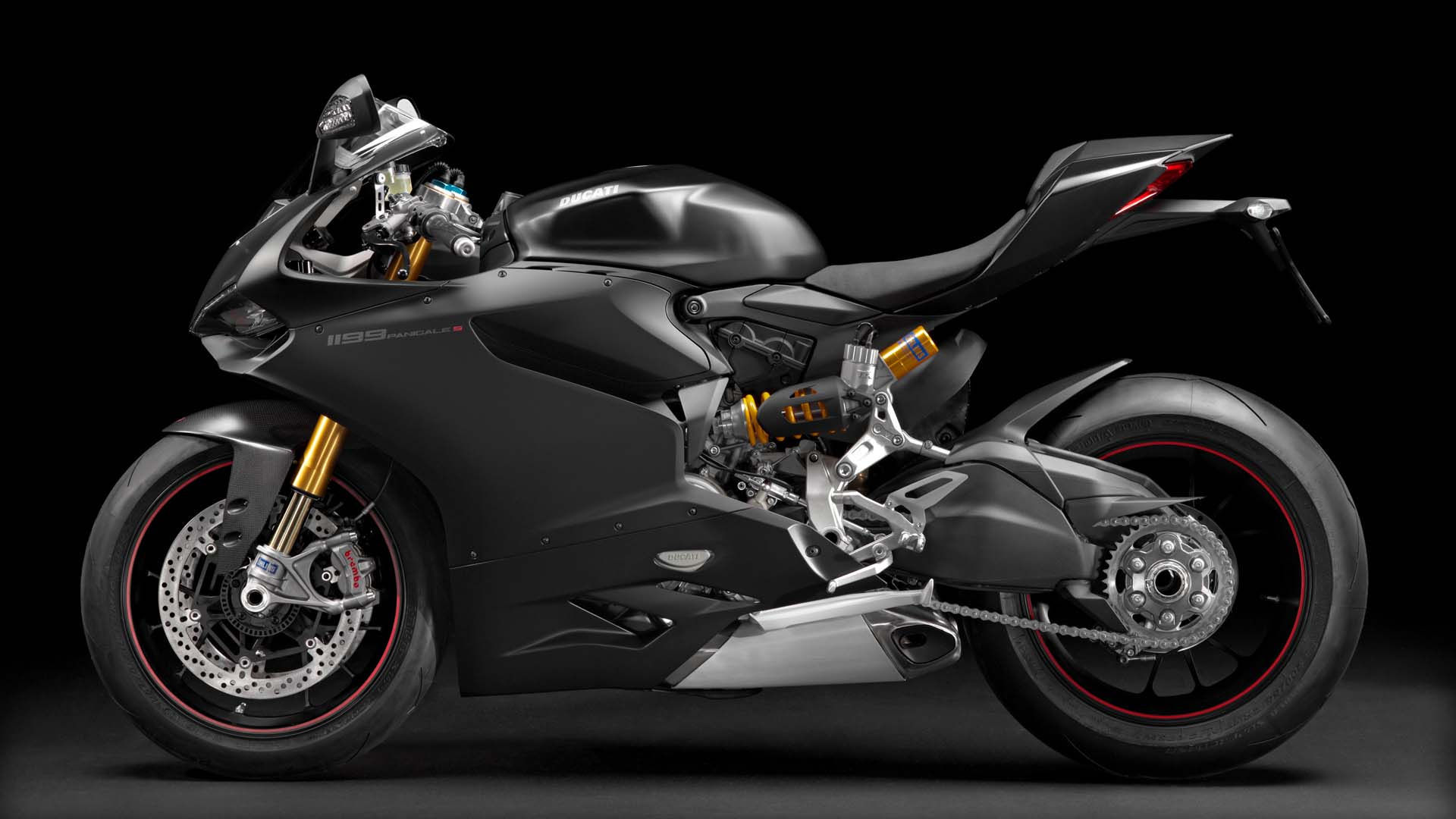 2014 Ducati 1199 PANIGALE S | Ducati 1199 Panigale S - Black Model Left Side