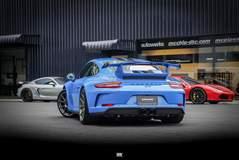 Autowerks BKK Porsche 991.2 GT3 on Center Locking Forgeline One Piece Forged Monoblock GA1R Wheels