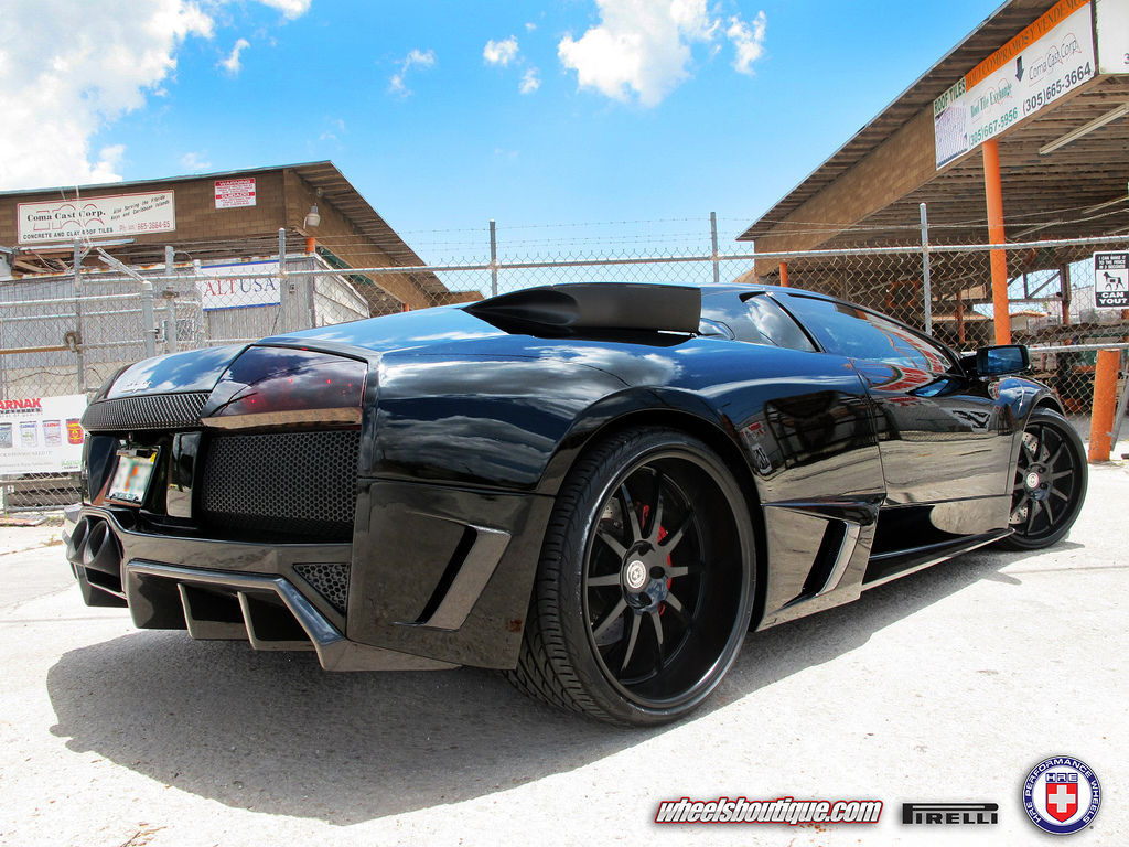 Lamborghini Murcielago | Lamborghini Murcielago on HRE Wheels