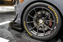 Ford's New Mustang GT4 Racecar Debuts at the 2016 SEMA Show on Forgeline One Piece Forged Monoblock GS1R Wheels