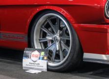"JH Restorations ""Shockr"" 1966 Ford Mustang on Center Locking Forgeline Grudge Wheels"