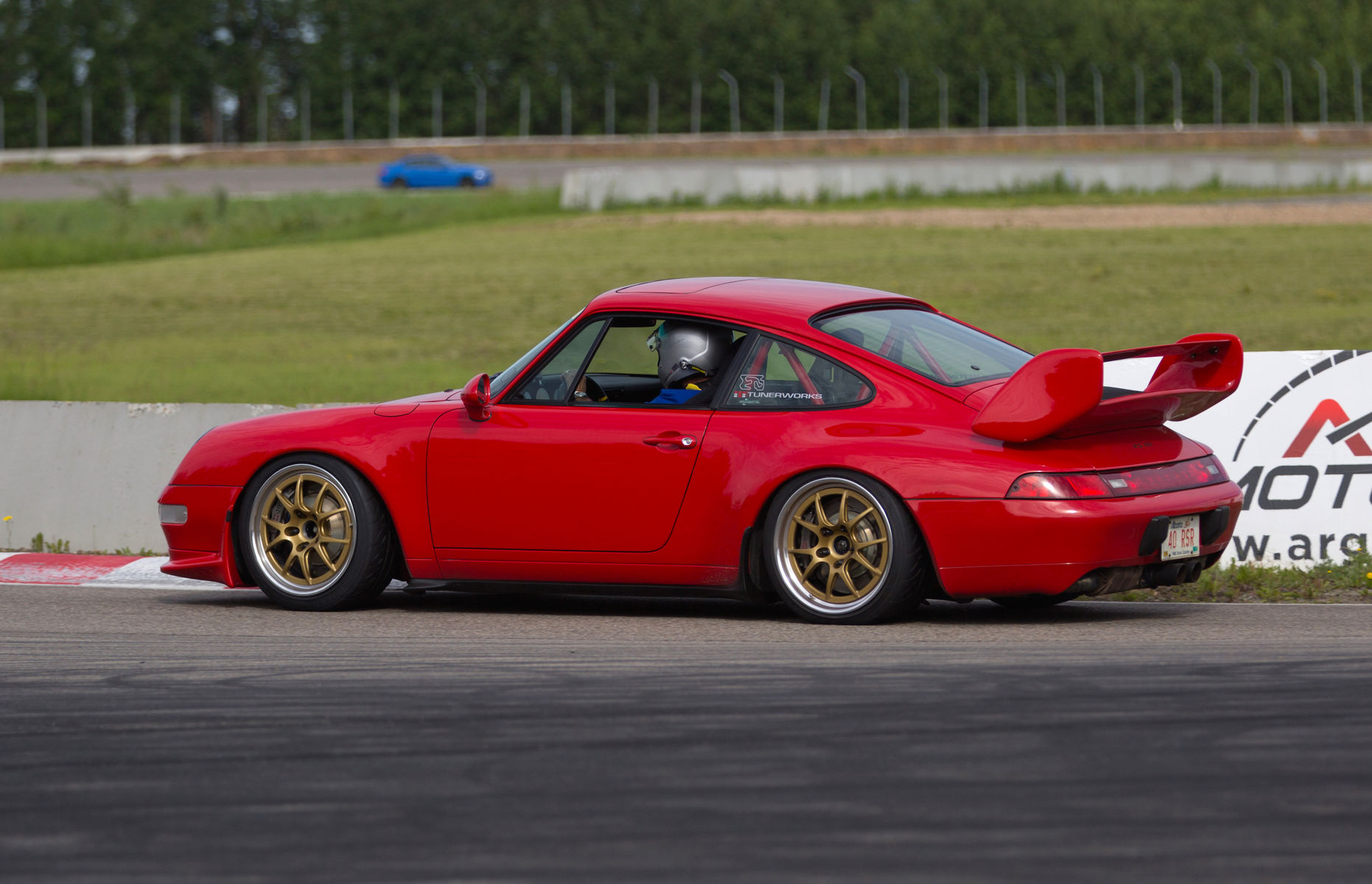 1996 Porsche 911 | Steven Tory's Porsche 993 RS 4.0 Tribute on Forgeline GA3R Wheels