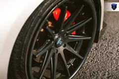 Custom 350Z - Black Spokes
