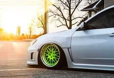 Corey West's Subaru WRX on Forgeline GX3 Wheels