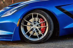 Advanced Composite Specialties C7 Corvette Stingray on Forgeline One Piece Forged Monoblock AR1 Wheels