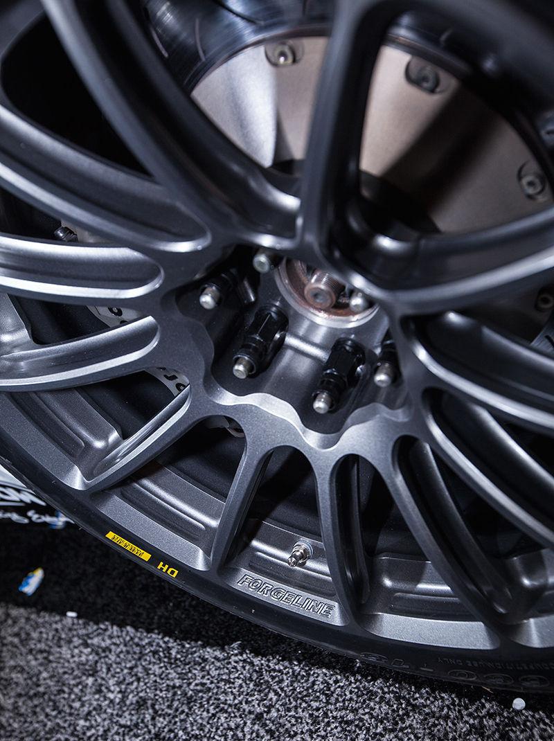 2015 Dodge Viper   McCann Racing's Dodge Viper G5R on Forgeline One Piece Forged Monoblock GTD1-Viper Wheels