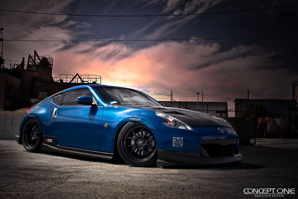 2012 Nissan 370Z | '12 Nissan 370Z on Concept One CSL5.5's