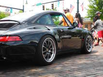 Porsche 993 Targa on Forgeline ZX3R Wheels