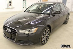 Audi A6 with XPEL ULTIMATE paint protection film