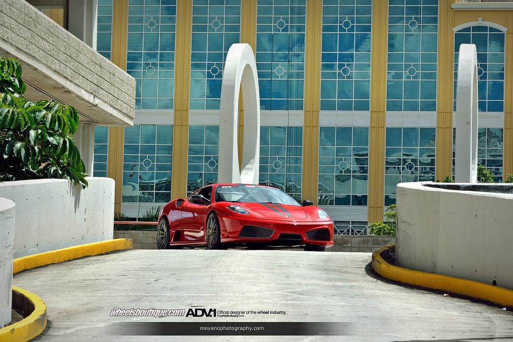 Ferrari 430 Scuderia | Ferrari F430 Scuderia on ADV5.2 M.V1 SL