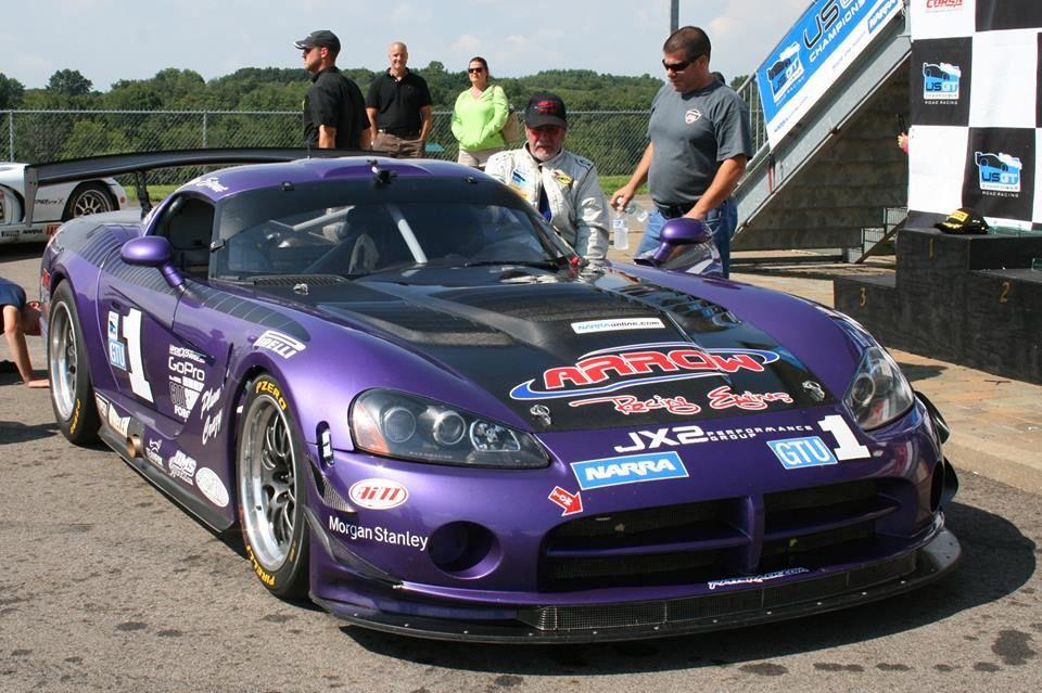 Dodge Viper | Jim Stout's Dodge Viper on Forgeline GA3R-6 Wheels Wins at PIR
