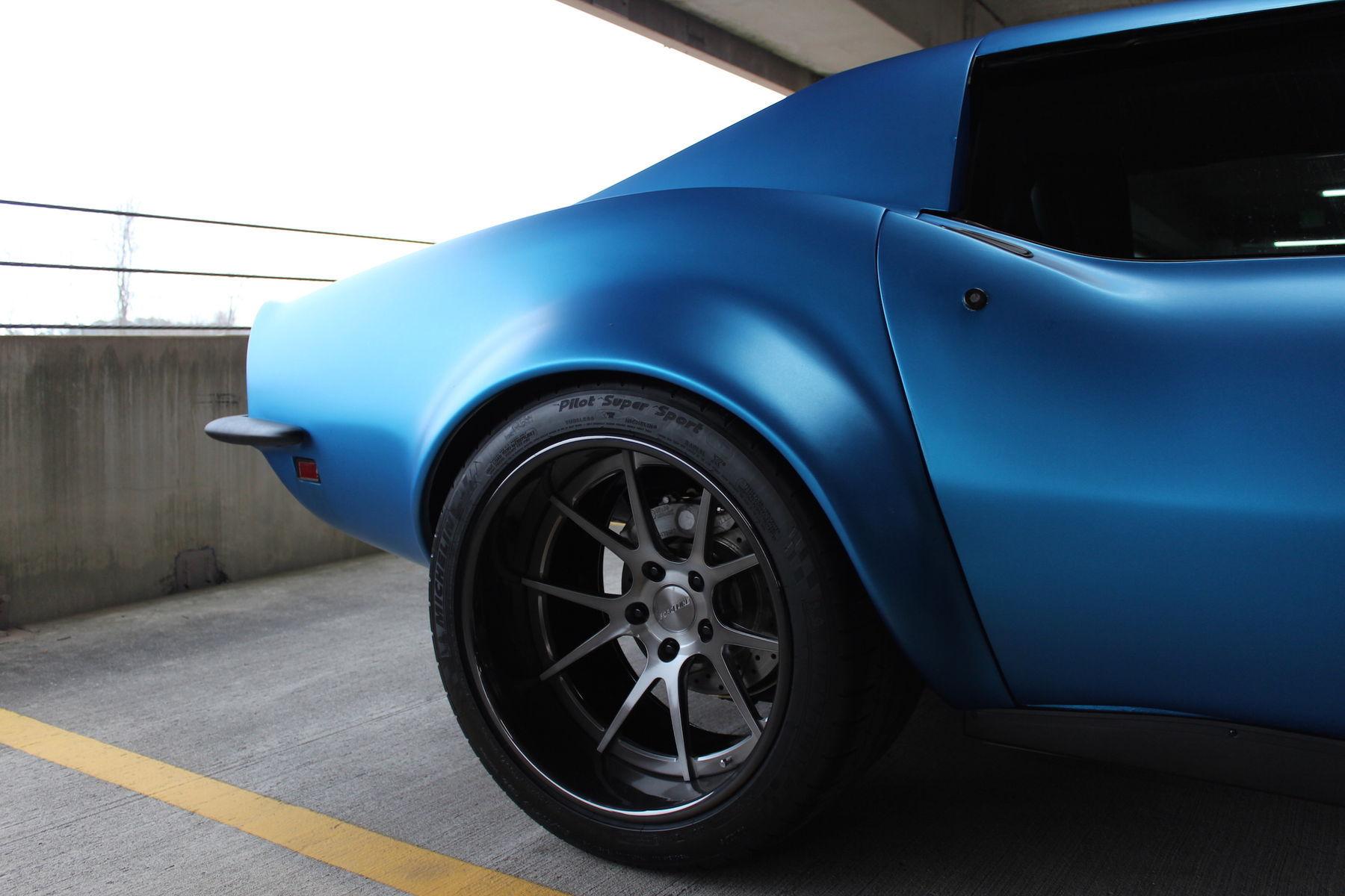 1969 Chevrolet Corvette Stingray | Chris Wylie's 1969 C3 Corvette Stingray on Forgeline GA3C Concave Wheels