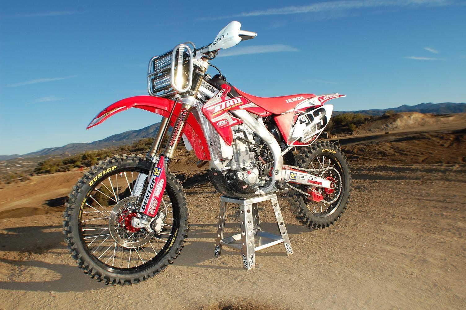 | Dirt Bike with Rigid Industries 10
