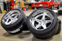 Forgeline Heritage Series FF3 Wheels with BFGoodrich Rival Tires