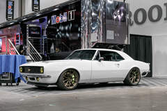 "Ironworks Speed & Kustom ""Fairway '67"" Camaro on Forgeline One Piece Forge Monoblock RB1 Wheels"