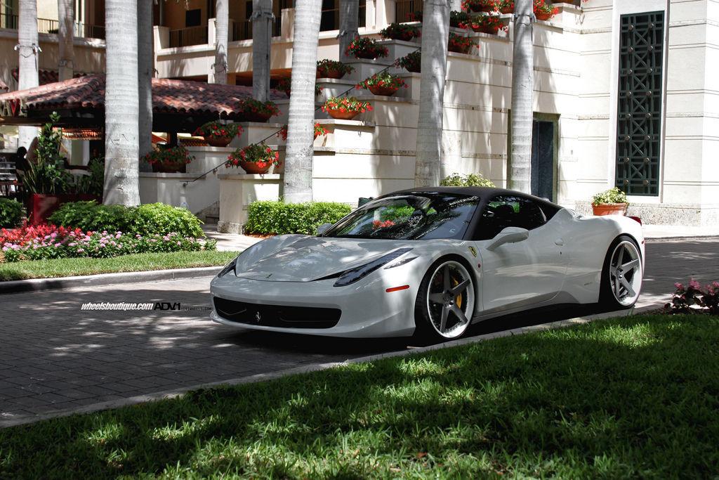 Ferrari California   Ferrari 458 on ADV5 Deep Spec