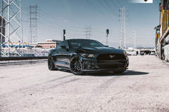 Ford Mustang - Front View