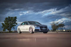 H&R 2017 Audi A4 - H&R Inside