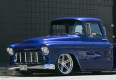 Esmond Takeshita's '57 Chevy C-10 Truck on Forgeline SC3C Concave Wheels
