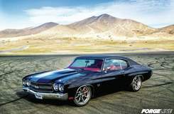 Greg Heinrich's 1970 Chevelle on Grip Equipped Laguna Wheels