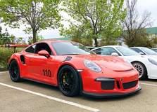 Alekshop-Prepped Porsche GT3RS on Forgeline One Piece Forged Monoblock GA1R Wheels