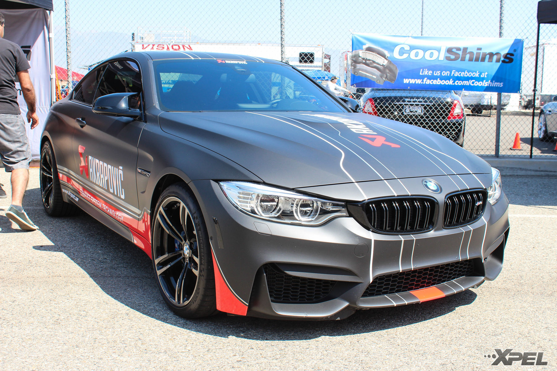 BMW  | Akrapovi? BMW at the California Festival of Speed