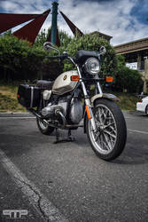 Classic BMW Motorcycle