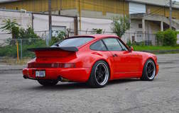 Dave Schardt's Porsche 964 Turbo on Forgeline Heritage Series FF3 Wheels
