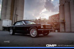 Mustang on Forgeline GW3 Wheels