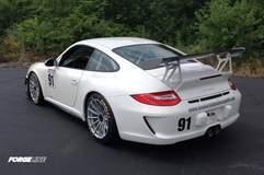 Joe Lombardo's Porsche 997.2 GT3RS on Forgeline One Piece Forged Monoblock GT1 Wheels