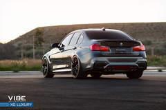 "BMW M3 on 20"" XO Luxury Wheels - Rear Shot"