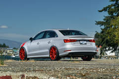 Audi A3 on Forgeline GT1 5-Lug Wheels