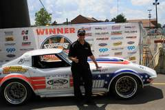 Ryan Mathews Wins Goodguys PPG Nationals Autocross in the Detroit Speed C3 Corvette on Forgeline GA3 Wheels