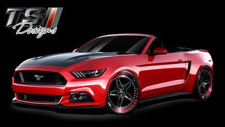 2015 Ford Mustang | 2015 TS Designs Ford Mustang - Rendering