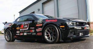 Showtime Motorsports Camaro Z/28 on Forgeline GA1R Open Lug Cap Edition Wheels