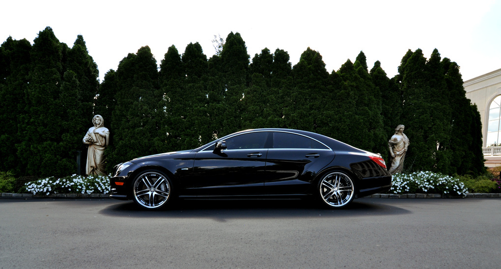 2012 Mercedes-Benz CL-Class | 2012 Mercedes-Benz CLS on Concept One RS55's