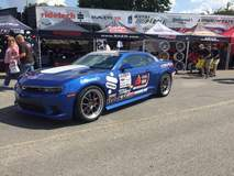 Lingenfelter Performance Engineering's L28 Camaro on Forgeline GA3 Wheels