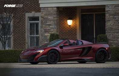 2017 McLaren 675LT | GlasWerks DMV's McLaren 675LT Conversion on Forgeline One Piece Forged Monoblock GT1 5-Lug Wheels