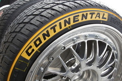 Got a little up close and personal with the best part of being at the race track, the Continental Tires