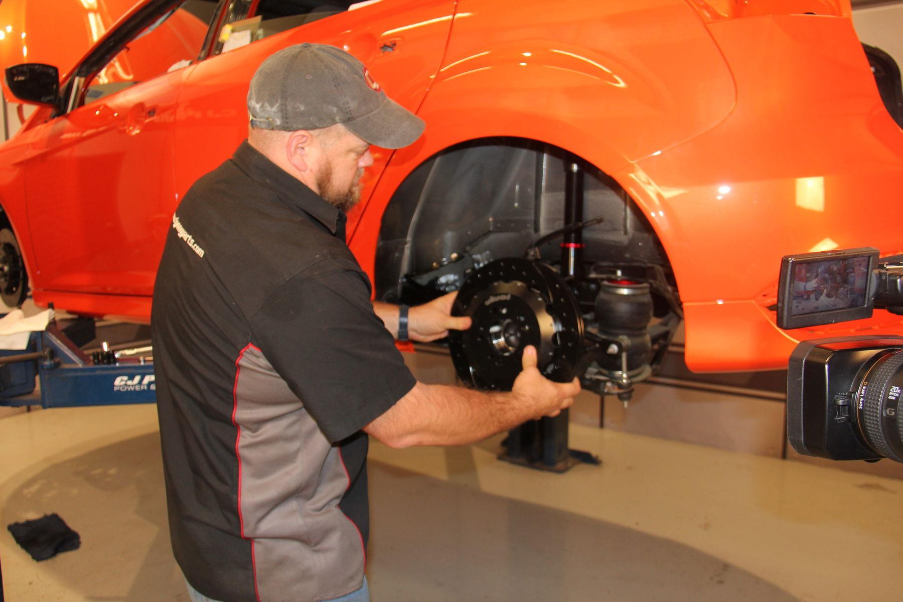 2015 Ford Focus ST | CJ Pony Parts Focus ST - Wilwood Brakes Install