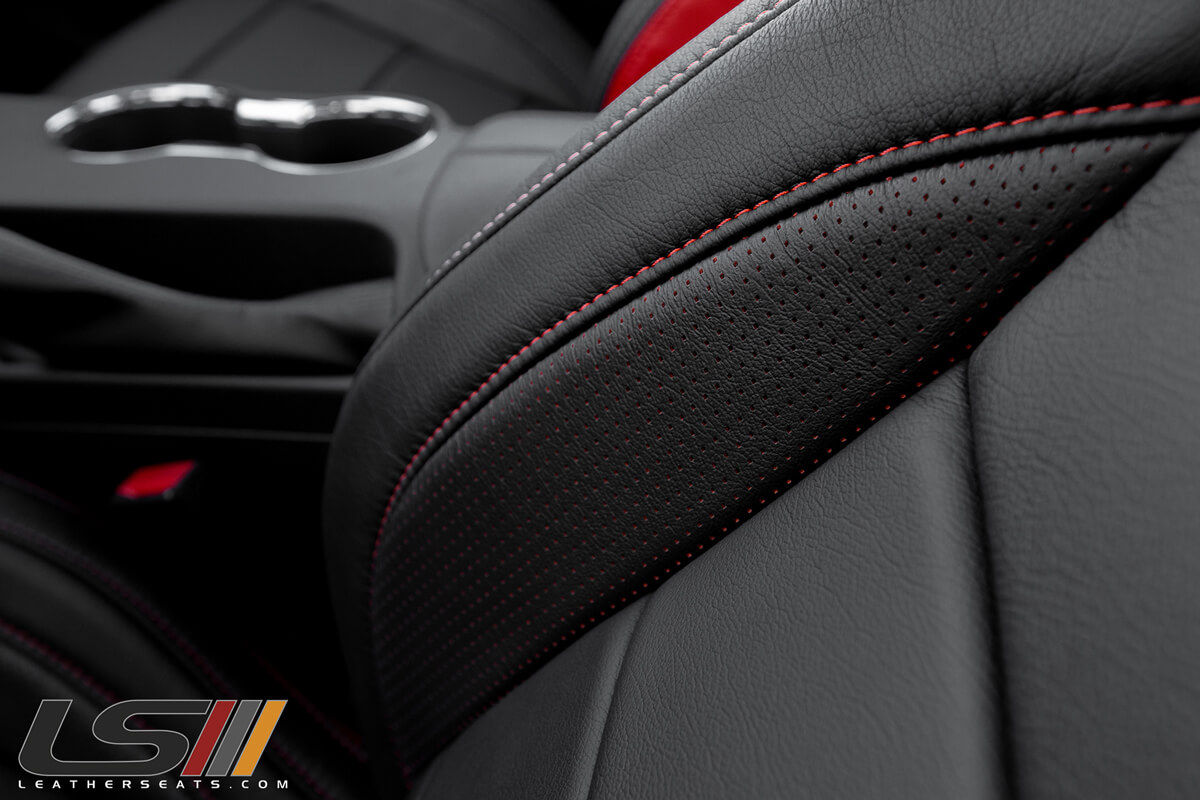 2017 Mustang Gt Leather Interior By Leatherseats