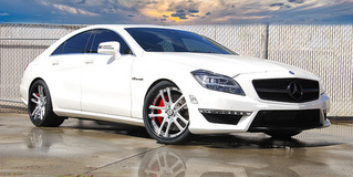 2013 Mercedes CLS63 AMG on Rucci Canoa's